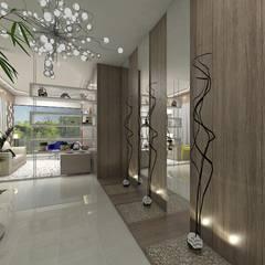 Hall de Entrada AL: Corredores e halls de entrada  por Plano A Studio