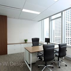 LHT Tower | Central | Hong Kong:  Commercial Spaces by Nelson W Design,