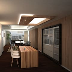 Discovery Primea   Manila:  Dining room by Nelson W Design