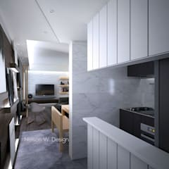 The Long Beach | Hong Kong: modern Kitchen by Nelson W Design