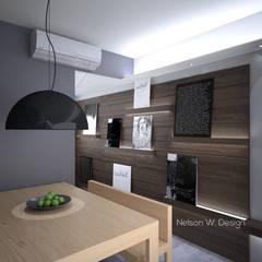 The Long Beach   Hong Kong Modern living room by Nelson W Design Modern