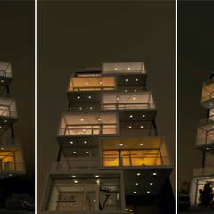 THE BLOCK: Gimnasios de estilo moderno por GGAL Estudio de Arquitectura