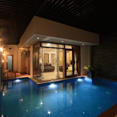 The Grand Pergolas:  Pool by Ansari Architects