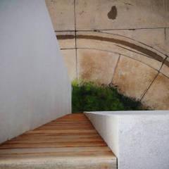 Jardin de style  par BAG arquitectura, Moderne Bois Effet bois