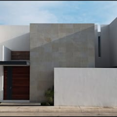 Maisons de style  par BAG arquitectura, Moderne Bois Effet bois