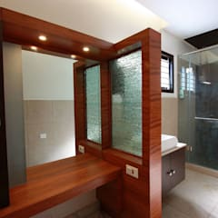 Dress:  Dressing room by Ansari Architects
