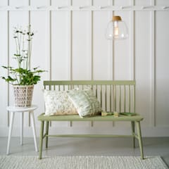 Recibidor natural: Pasillos y vestíbulos de estilo  de Laura Ashley Decoración