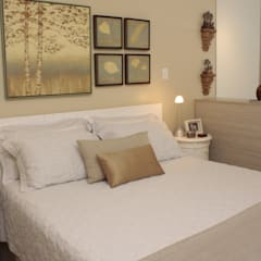 Bedroom by Fernanda Moreira - DESIGN DE INTERIORES,