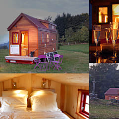 TINY HOUSE CONCEPT: Maisons de style  par TINY HOUSE CONCEPT - BERARD FREDERIC