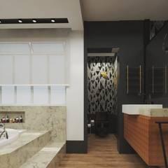 Bathroom by .Villa arquitetura e algo mais, Modern
