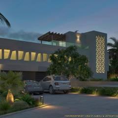 Villa-Salou: mediterrane Huizen door A. Simhy - Interieurarchitect BNI