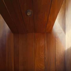 Casa oZsO: Paredes de estilo  por Martin Dulanto, Moderno