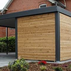 Prefabricated Garage by Carport-Schmiede GmbH + Co. KG