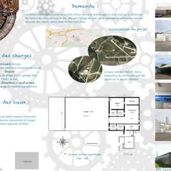 Comptoir du rêve. 1: Garage / Hangar de style  par Sb Design Concept