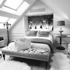 LOGO ARCHI DEKO: Chambre de style  par ARCHI DEKO