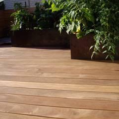 Cumaru Terrassendielen 21 x 145 mm FSC:  Terrasse von Kahrs GmbH
