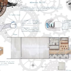 Comptoir du rêve. 5: Garage / Hangar de style  par Sb Design Concept