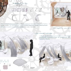 Comptoir du rêve. 9: Garage / Hangar de style  par Sb Design Concept