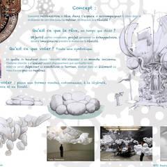 Comptoir du rêve. 2 : Garage / Hangar de style  par Sb Design Concept