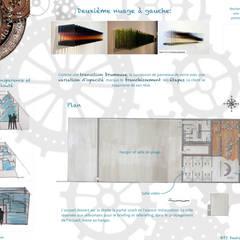 Comptoir du rêve. 3: Garage / Hangar de style  par Sb Design Concept