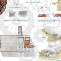 Comptoir du rêve. 7: Garage / Hangar de style  par Sb Design Concept