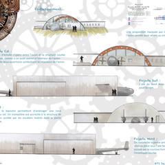 Comptoir du rêve. 8: Garage / Hangar de style  par Sb Design Concept