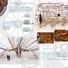 Comptoir du rêve. 11: Garage / Hangar de style  par Sb Design Concept
