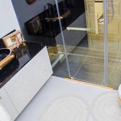 50GR Mimarlık – SERDİVAN VİLLALARI: rustik tarz tarz Banyo
