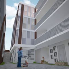 INTERIORES: Escuelas de estilo  por Arquitectura y diseño 3d- J.C.G