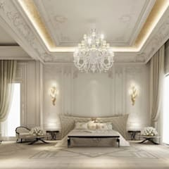 Interior Design & Architecture  by IONS DESIGN Dubai,UAE:  Bedroom by IONS DESIGN, Classic