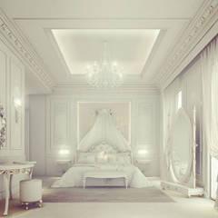 Interior Design & Architecture  by IONS DESIGN Dubai,UAE:  Bedroom by IONS DESIGN