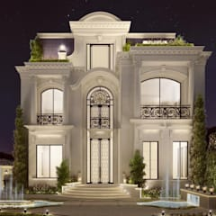 Interior Design & Architecture  by IONS DESIGN Dubai,UAE:  Houses by IONS DESIGN,