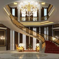 Interior Design & Architecture  by IONS DESIGN Dubai,UAE:  Corridor & hallway by IONS DESIGN, Classic