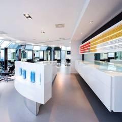 Schwarzkopf academy Moderne scholen van Beekmans Design Modern Beton