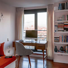 Gloucester Road Penthouse:  Study/office by Bhavin Taylor Design