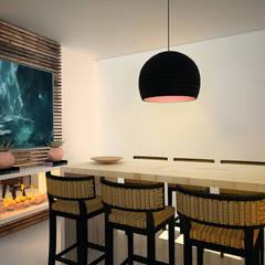 Casa Molina : Comedores de estilo escandinavo por Rotoarquitectura
