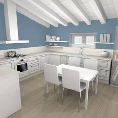 Cucina D.: Cucina attrezzata in stile  di ArcKid