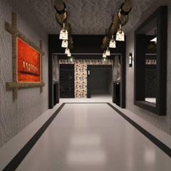 Corridor & hallway by YAKAMOZ İÇ MİMARLIK VE TASARIM