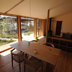 ダイニング: 加藤武志建築設計室が手掛けたダイニングです。
