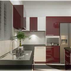 Arabian Style in Interiors: asian Kitchen by Monnaie Architects & Interiors