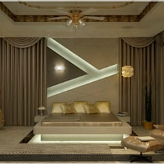 Arabian Style in Interiors:  Bedroom by Monnaie Architects & Interiors