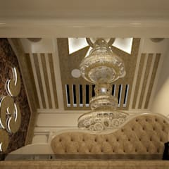Arabian Style in Interiors:  Living room by Monnaie Architects & Interiors