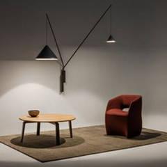 Novedades en Lámparas de Diseño Vibia : Paredes de estilo  de LÁMPARAS DE DECORACIÓN