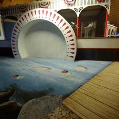 Avonturenspeeltuin Wanroy:  Kinderkamer door Dick de Jong Interieurarchitekt