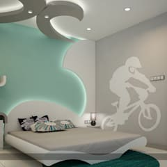 Contemporary Design in Interiors:  Bedroom by Monnaie Architects & Interiors