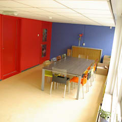 Interieur Basisschool oostvaarder Moderne scholen van Dick de Jong Interieurarchitekt Modern