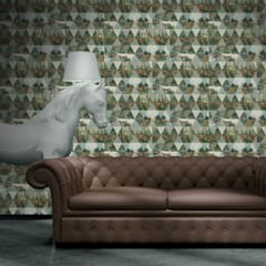 Walls & flooring by OH Wallpaper