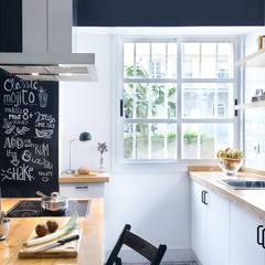 A Coruña for rent!: Cocinas de estilo  de Egue y Seta