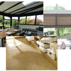 Transformer une terrasse en véranda: Terrasse de style  par Mon Intérieur Sur Mesure (MISM)