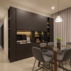 THE LIVIA:  Dining room by Eightytwo Pte Ltd